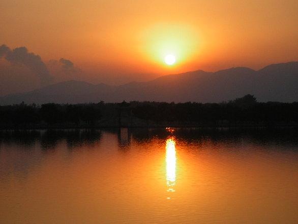 sunset beijing